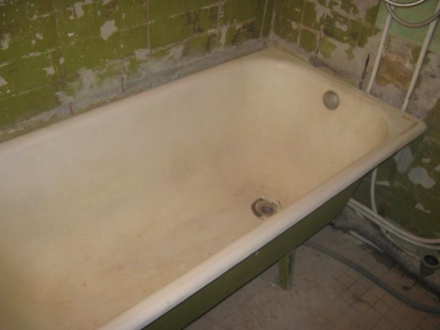 Вывоз чугунных ванн